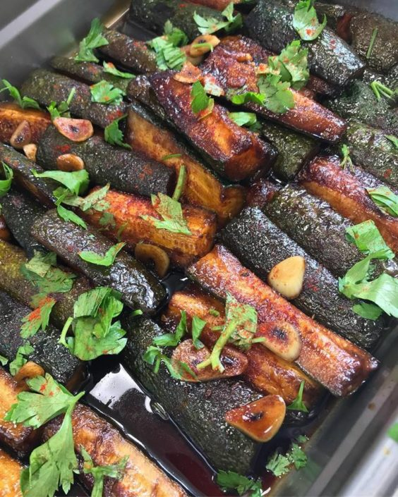 Special Side: zucchini balsamic Greek Style