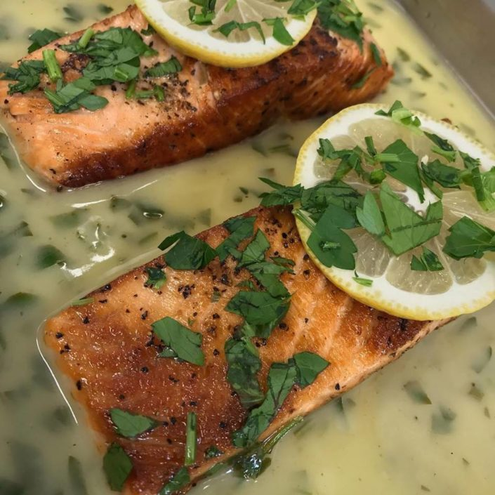 YiaYia's Special: Grilled Salmon